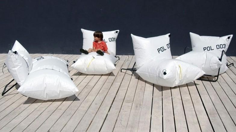 canape gonflable pour extérieur et intérieur