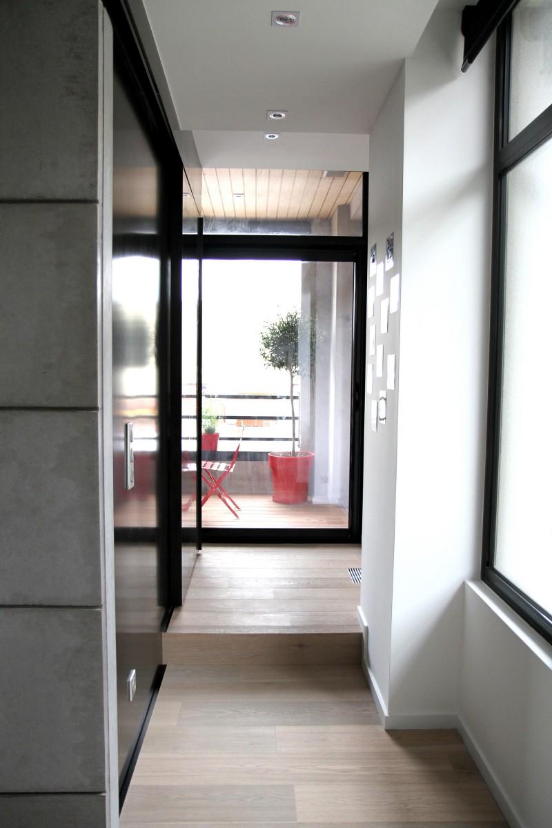Couloir vers la terrasse