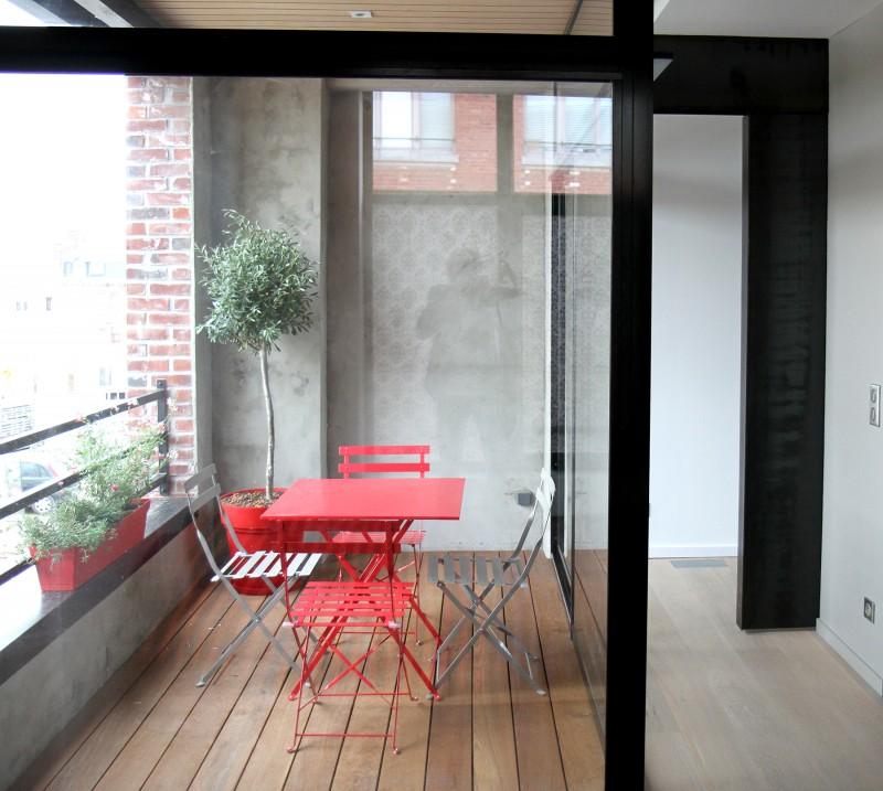 La terrasse du loft