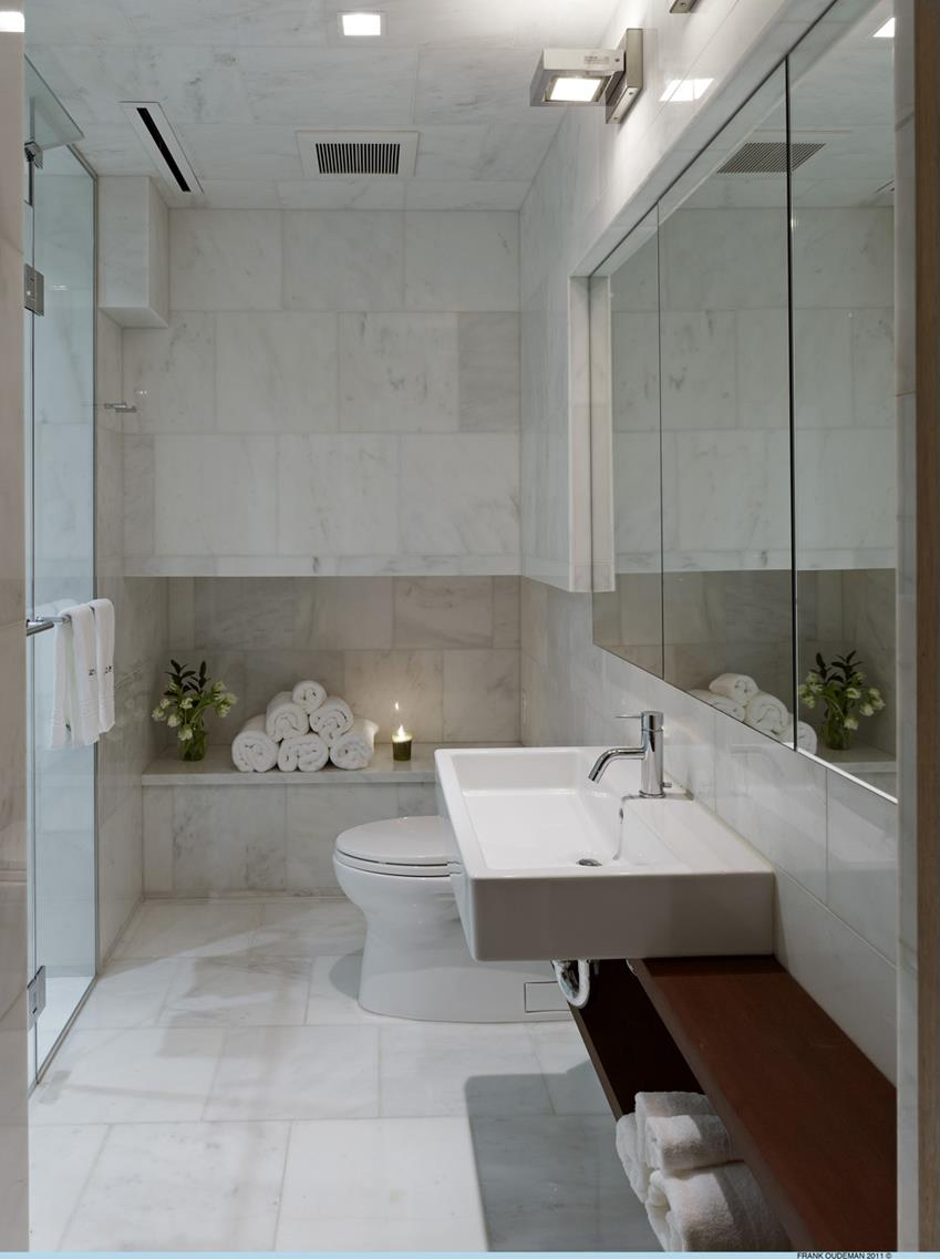Salle de bains du loft - Salle de bain new york ...