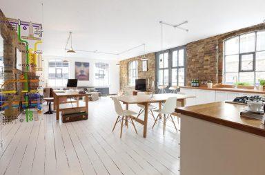 Loft londres loft atelier plateau surface vendre for Loft atelier a louer