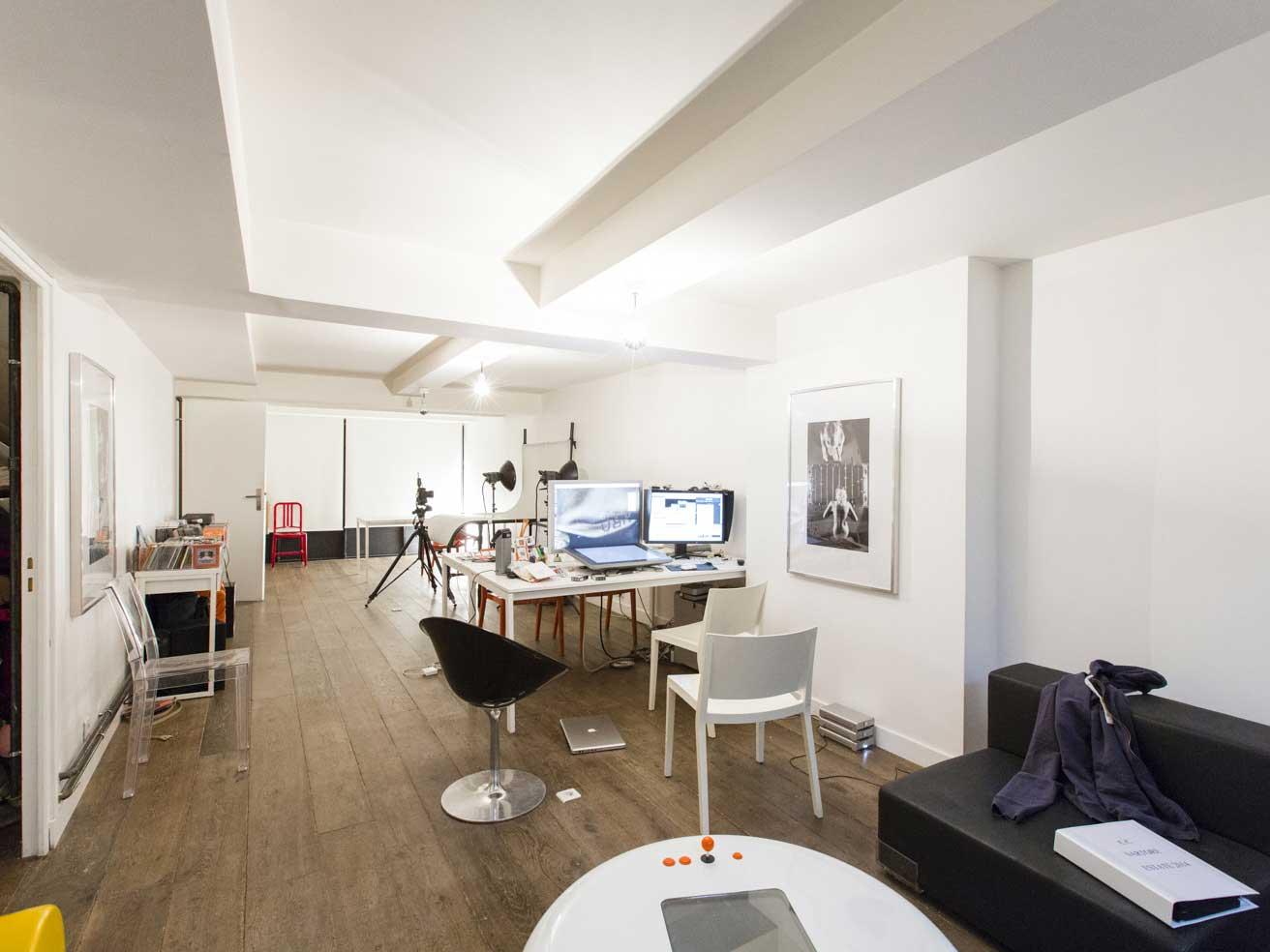 Loft avec studio photo - Acheter un loft a paris ...