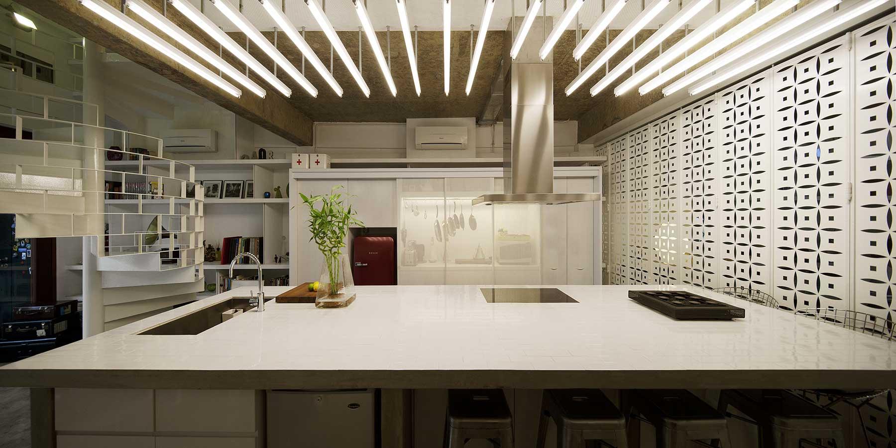 Cuisine Avec éclairage Atypique - Cuisine atypique