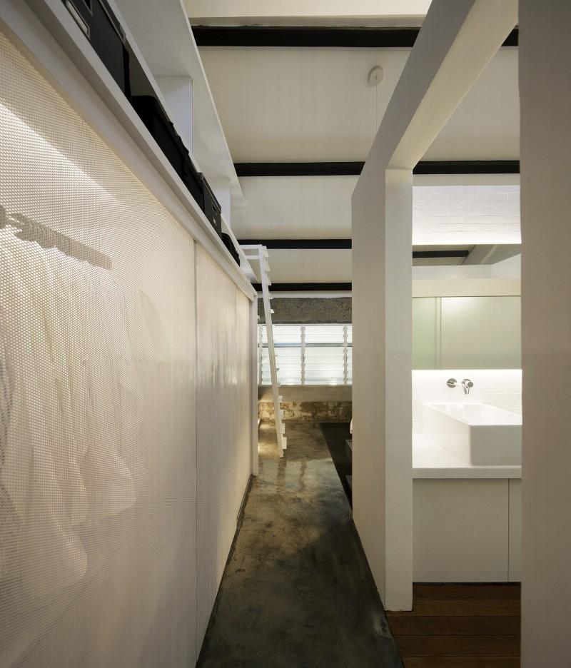 Couloir du loft