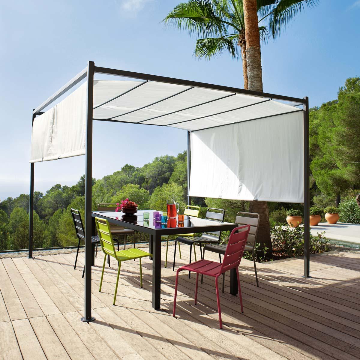 tonnelle design. Black Bedroom Furniture Sets. Home Design Ideas