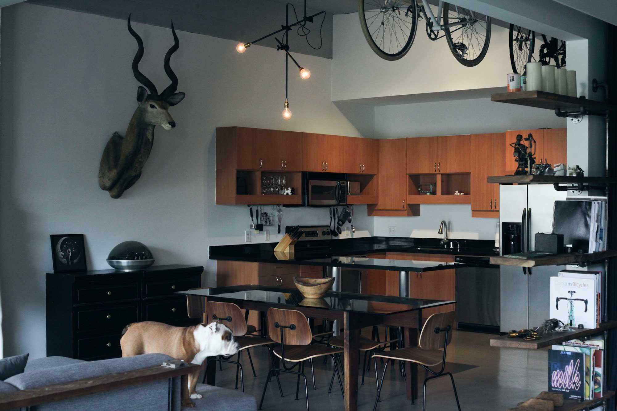 Packard Loft à Los Angeles par Cush Design Studio