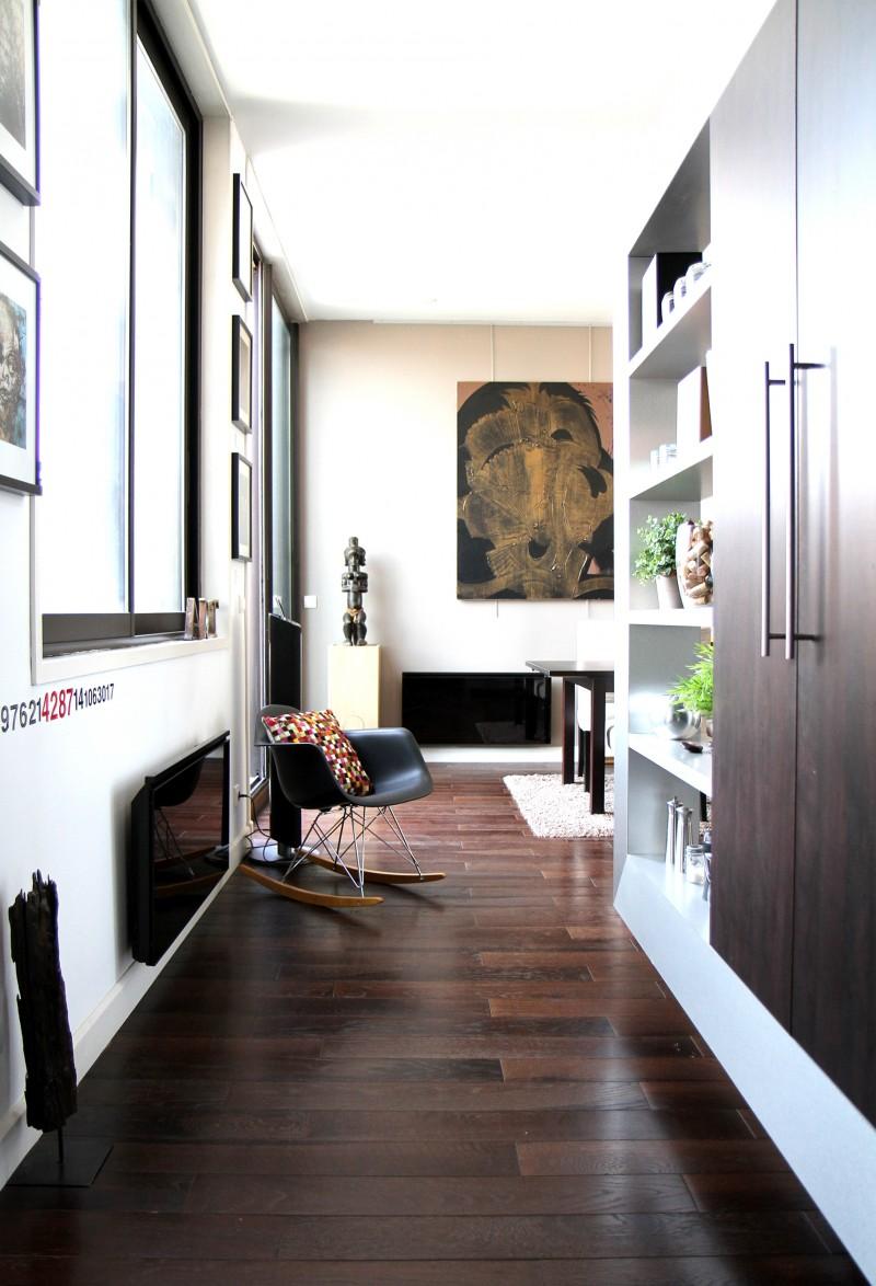 separation salon entree salon moderne bois verri re d 39 int rieur et verri re d 39 atelier d. Black Bedroom Furniture Sets. Home Design Ideas