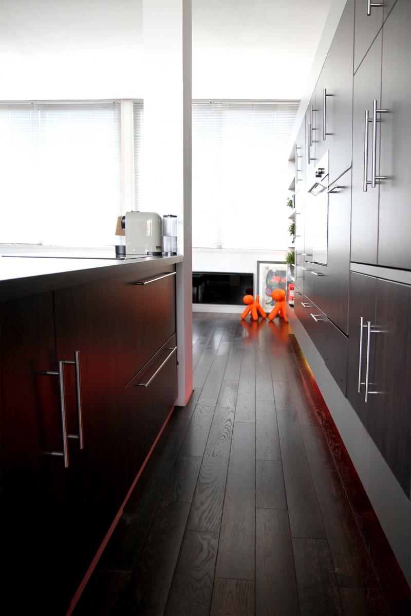 Le loft de yann roubaix for Separer la cuisine du salon