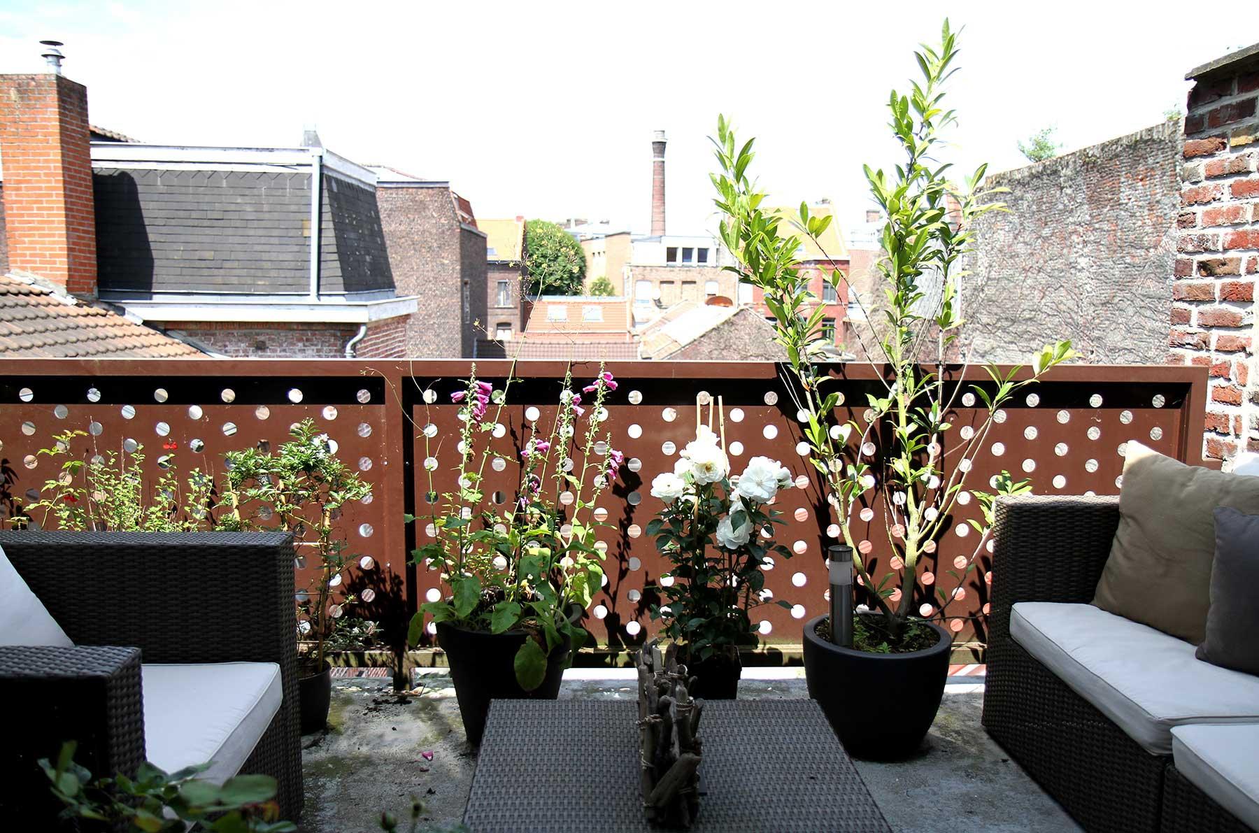 Terrasse du loft for Loft terrasse