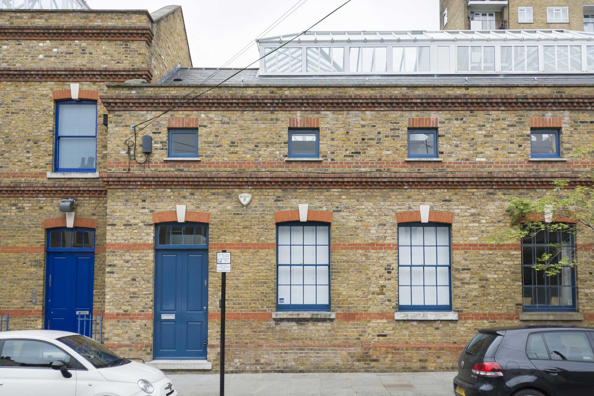 Loft dans une ancienne fabrique laitière à Londres