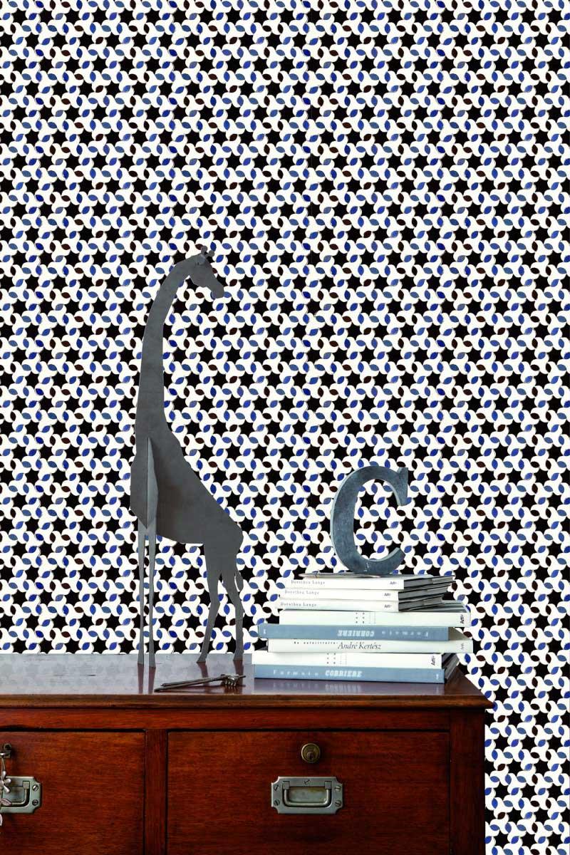 23 papiers peints à motifs carreau de ciment