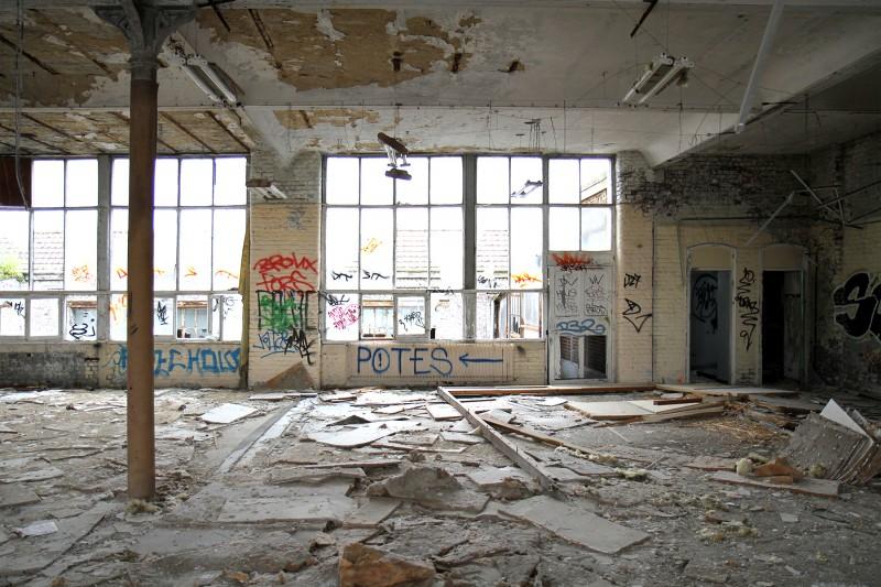 La r sidence bradford 69 lofts dans une ancienne usine for Interieur usine