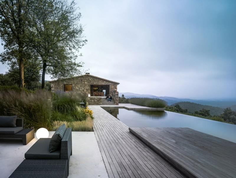 Maison avec piscine à Girone