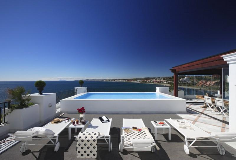 Penthouse à Marbella avec piscine