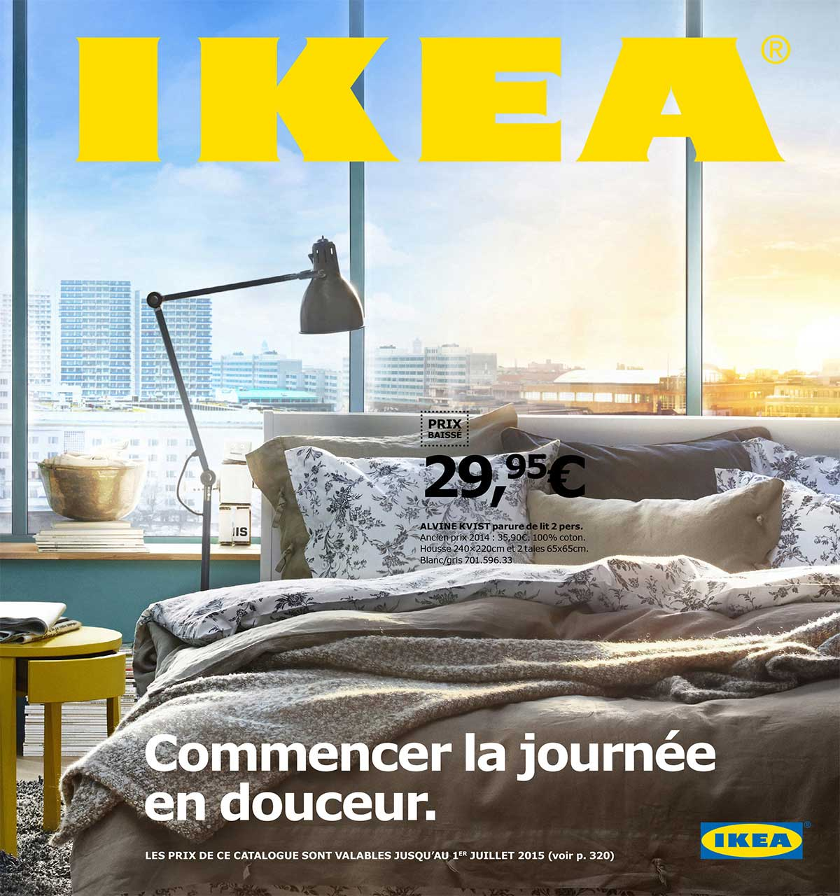 couverture catalogue ikea 2015. Black Bedroom Furniture Sets. Home Design Ideas
