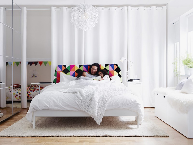 32 ambiances du catalogue ikea 2015 for Chambre ikea
