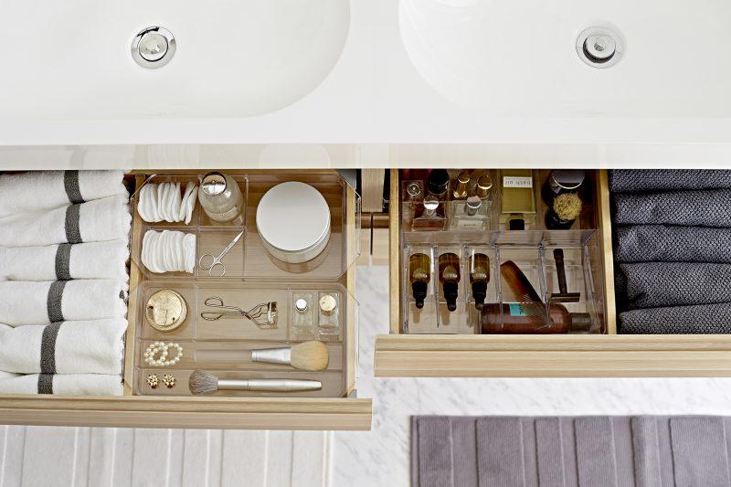 Tirroir meuble de salle de bains Ikea