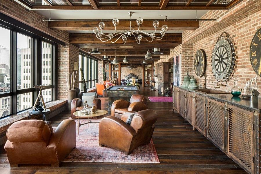 Loft new york loft atelier plateau surface vendre ou louer Chambre loft new yorkais