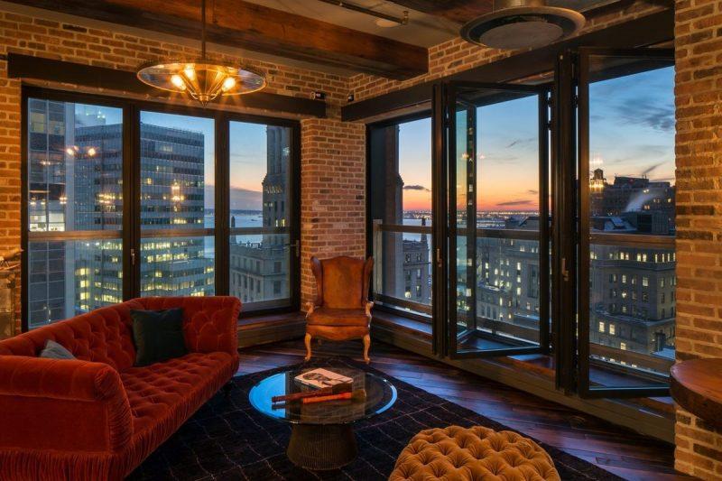 Loft avec vue sur New York