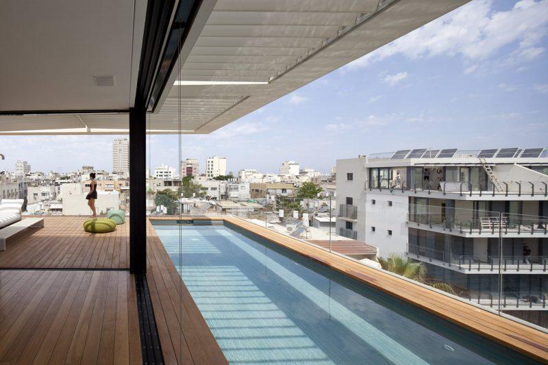 Maison avec piscine à Tel Aviv