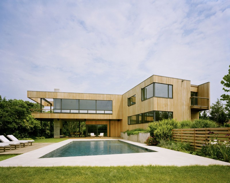 maison contemporaine piscine
