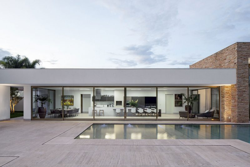 26 maisons de r ve avec piscine - Maison de ville moderne design klein ...