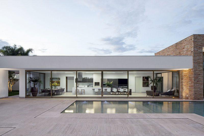 26 maisons de r ve avec piscine for Designer haus