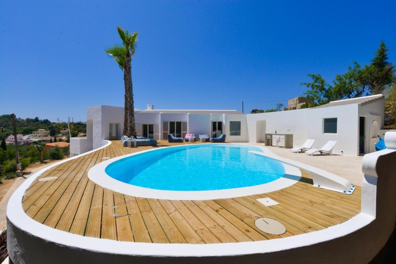 26 maisons de r ve avec piscine for Plan de maison de luxe avec piscine