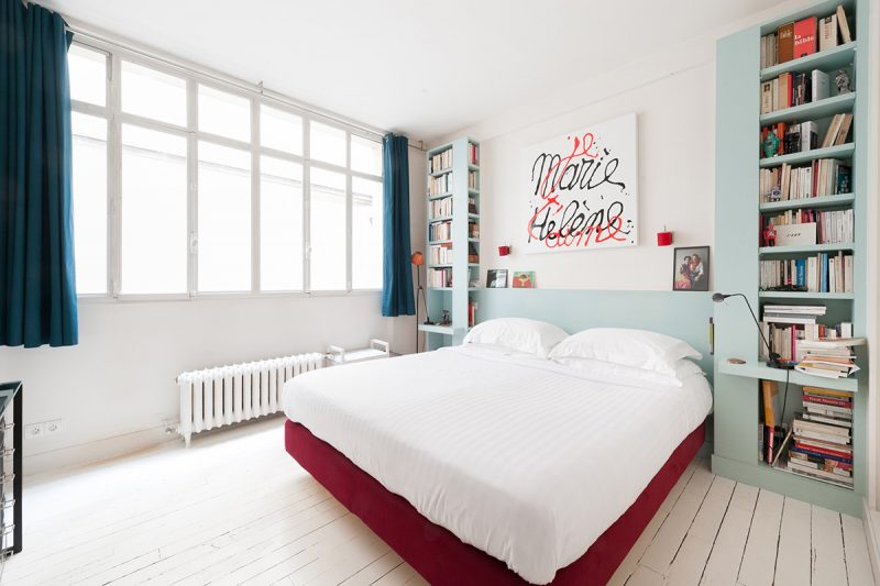 chambre avec parquet blanc. Black Bedroom Furniture Sets. Home Design Ideas