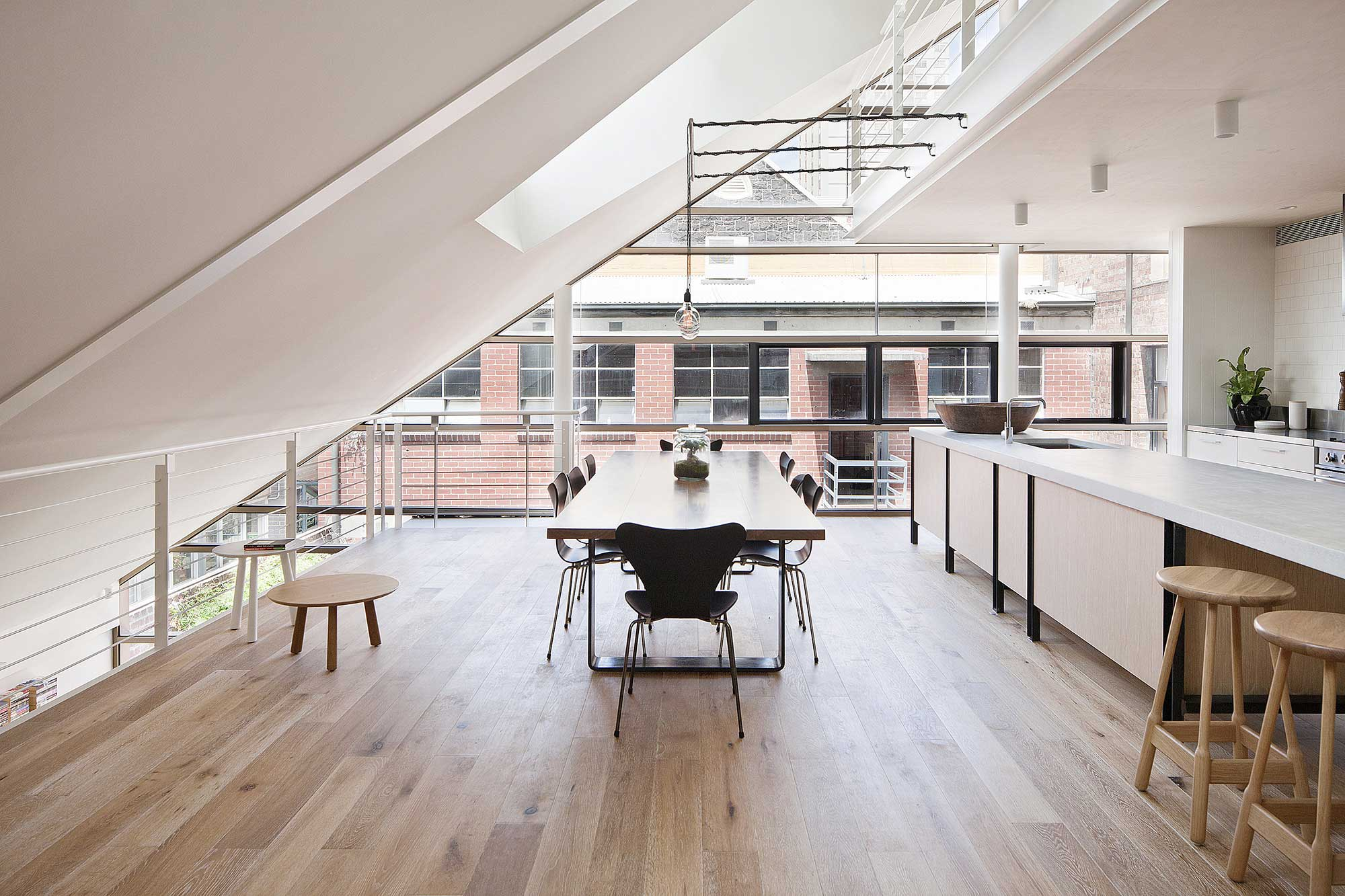 Moor Street Studio & Apartment par Clare Cousins Architects