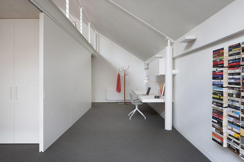 Espace bureau dans une chambre