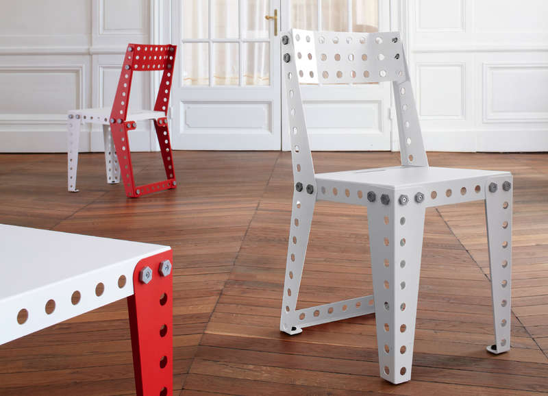 Meccano Home, le mobilier en… Meccano !