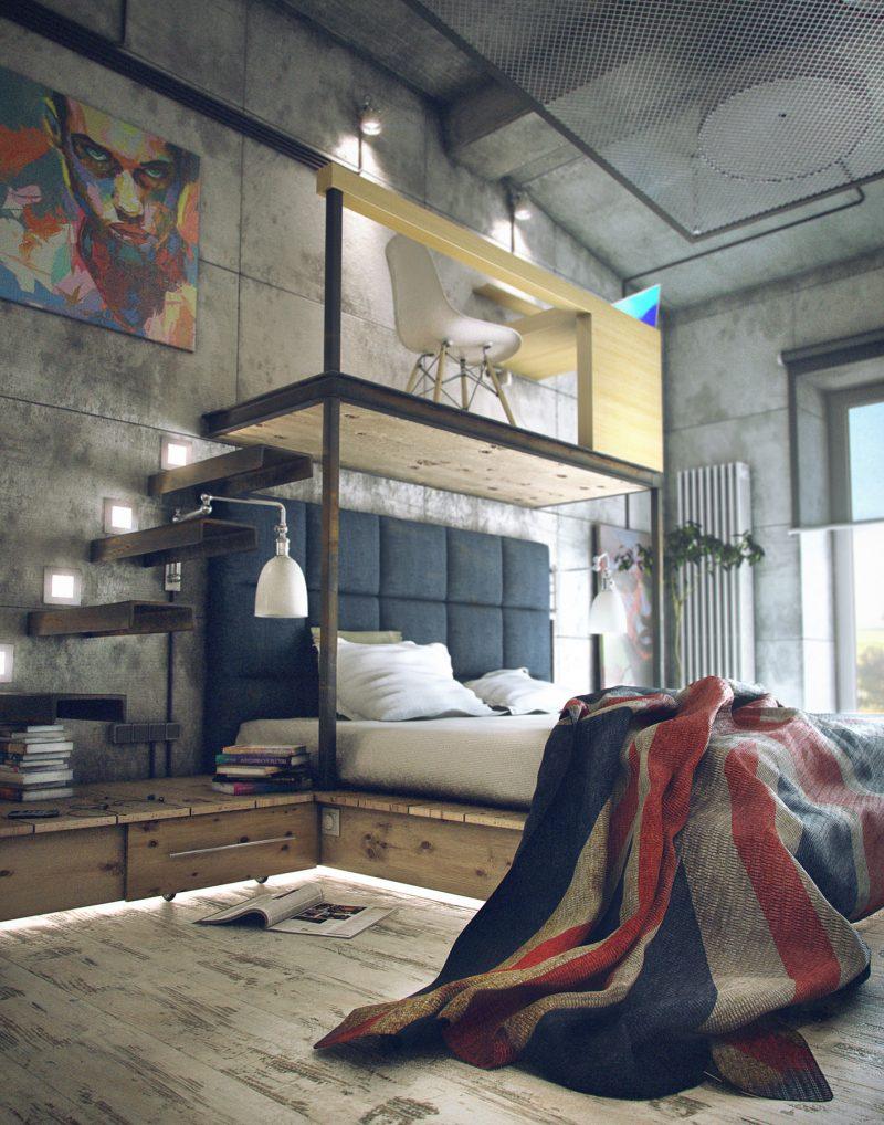 51 lofts industriels créés avec un logiciel de 3D