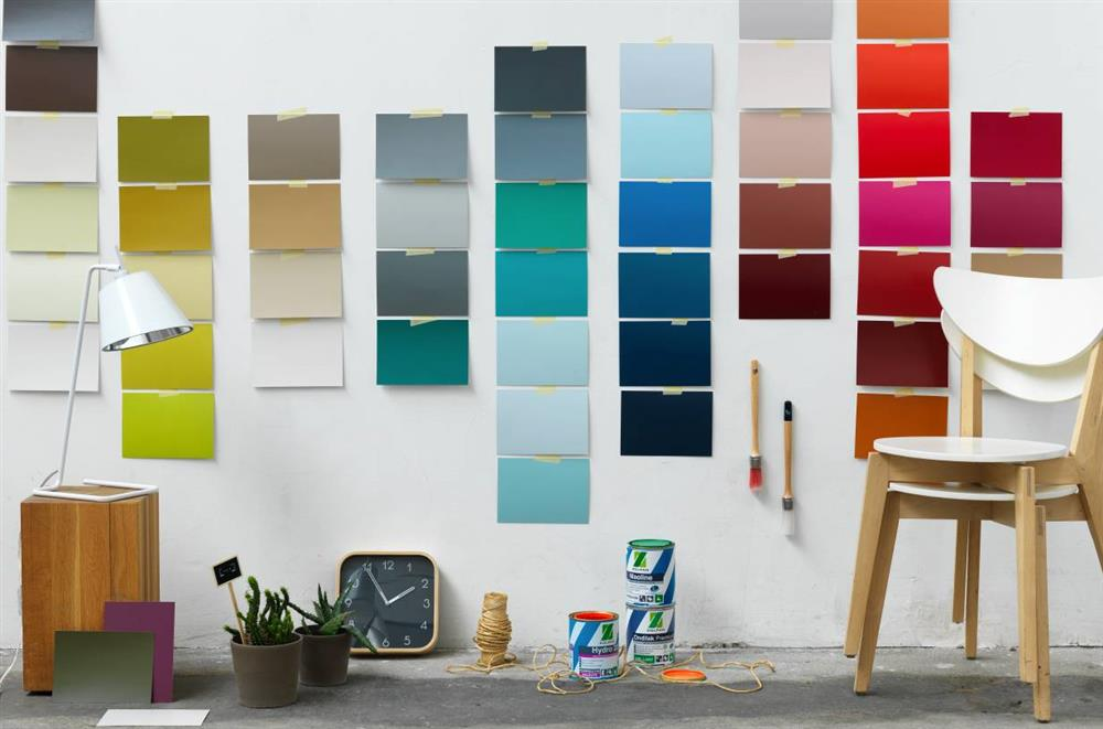 Echantillons peinture - Echantillon de couleurs de peinture ...