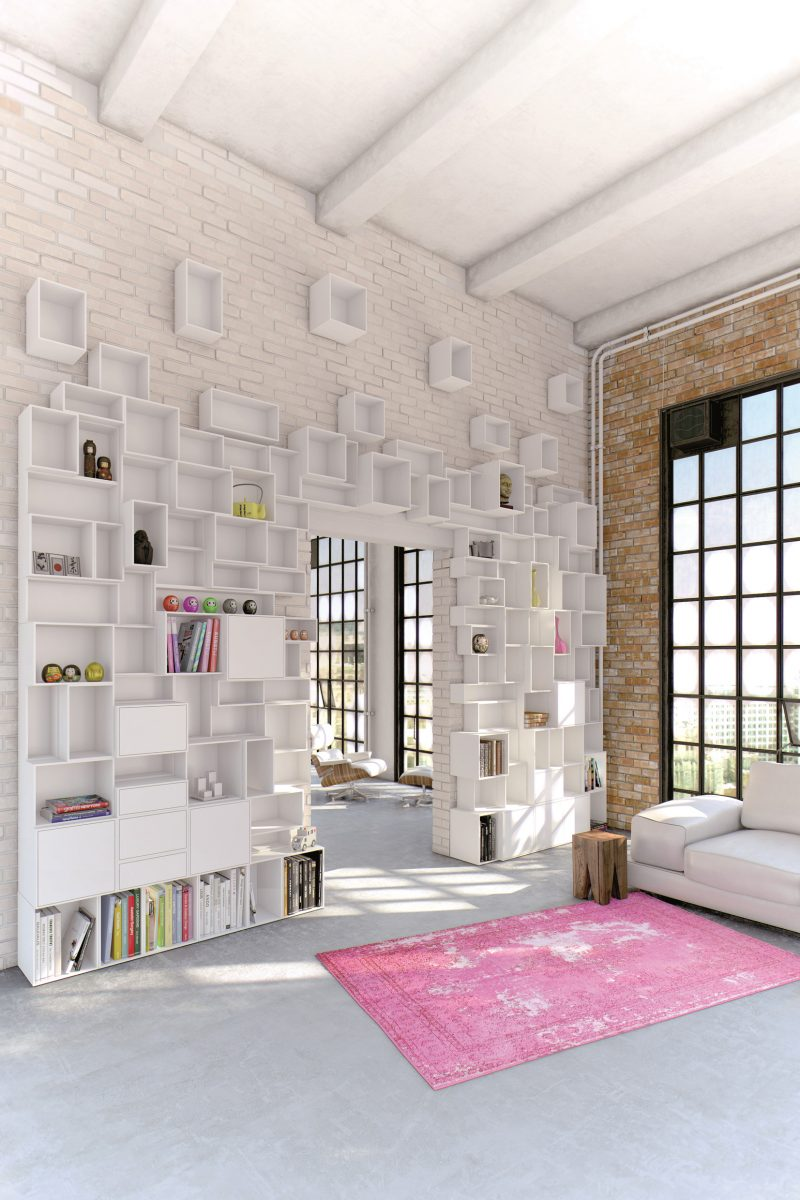 35 lofts industriels cr s avec un logiciel de rendu 3d. Black Bedroom Furniture Sets. Home Design Ideas