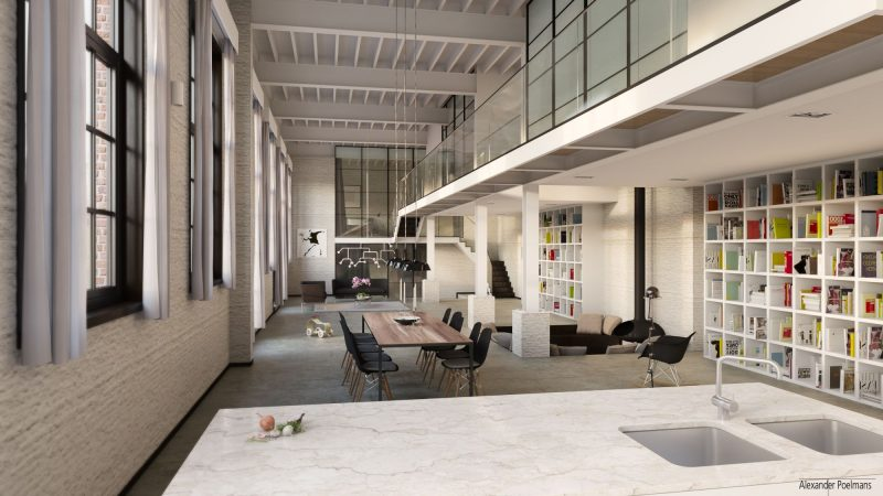 Grand loft en 3D