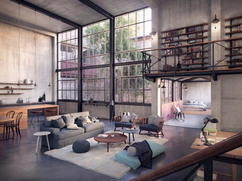 Magnifique loft industriel