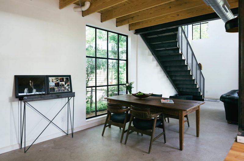 Fenêtre en métal type loft