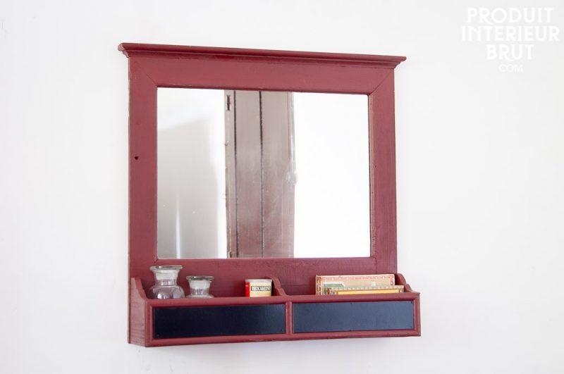 Produit int rieur brut mobilier et objets d co esprit vintage - Miroir psyche avec rangement ...