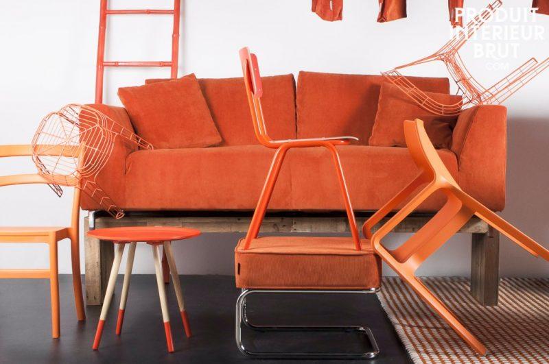 Mobilier orange