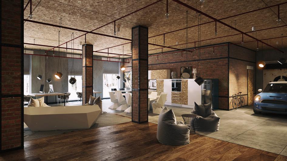 plafond et cuisine en osb. Black Bedroom Furniture Sets. Home Design Ideas