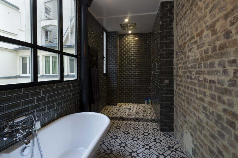 36 id es d co avec des motifs carreaux de ciment. Black Bedroom Furniture Sets. Home Design Ideas