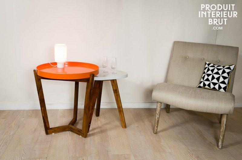 Table avec plateau amovible