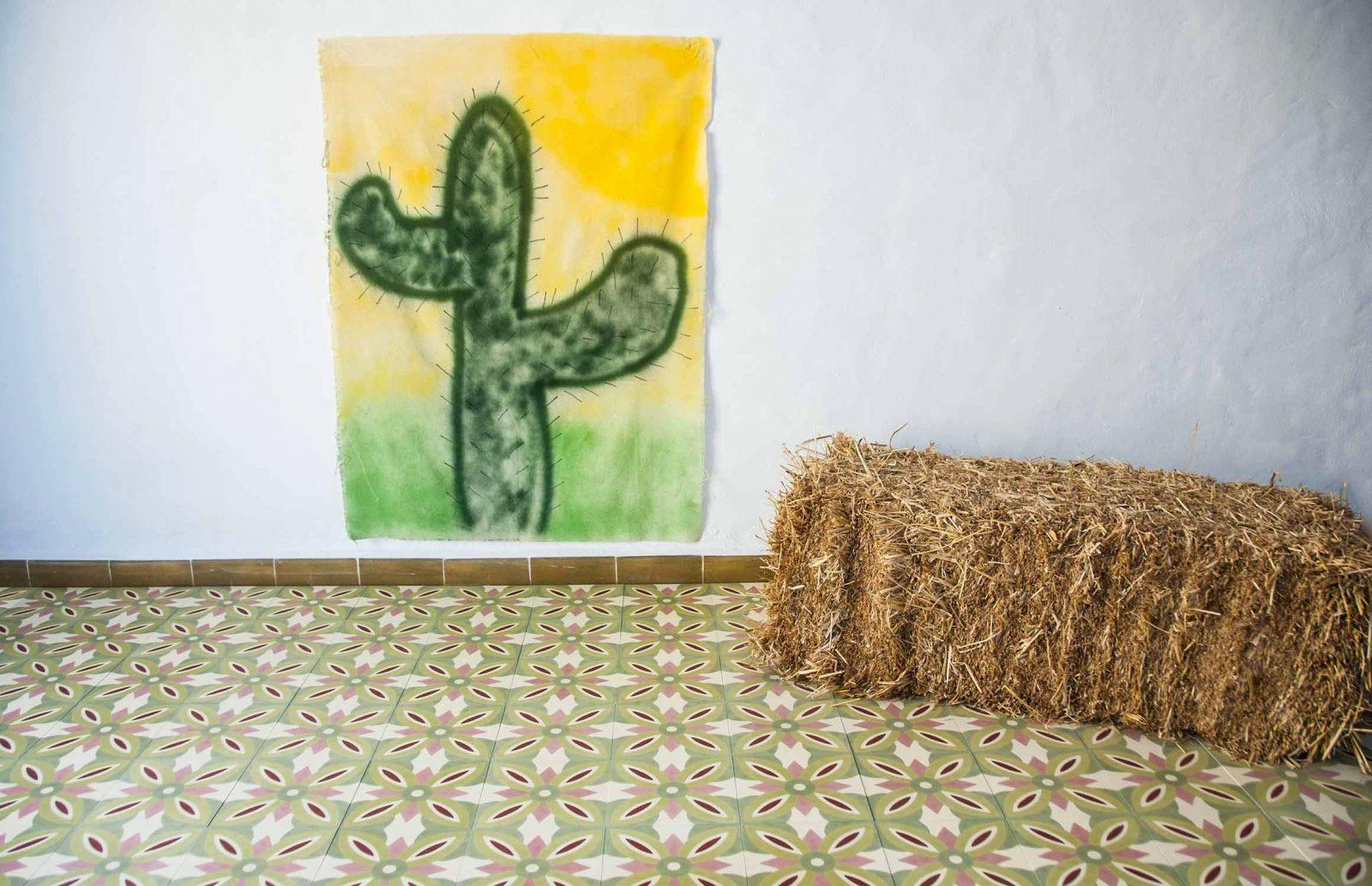 carreaux de ciment verts. Black Bedroom Furniture Sets. Home Design Ideas