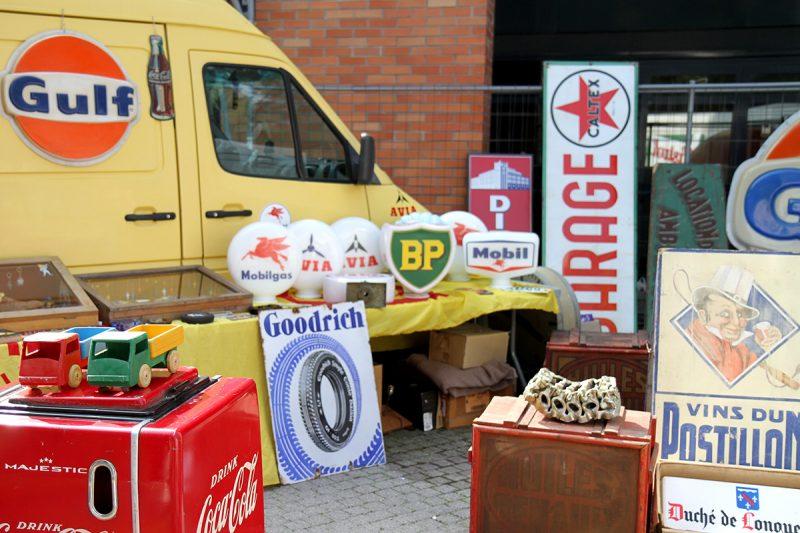 Déco pompe à essence vintage