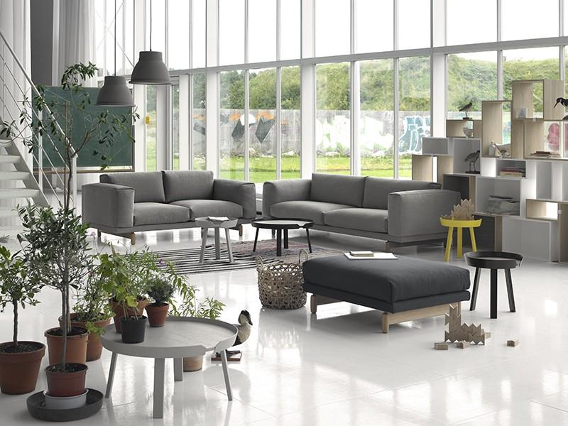 Déco Scandinave Moderne Du0027un Salon Par Muuto