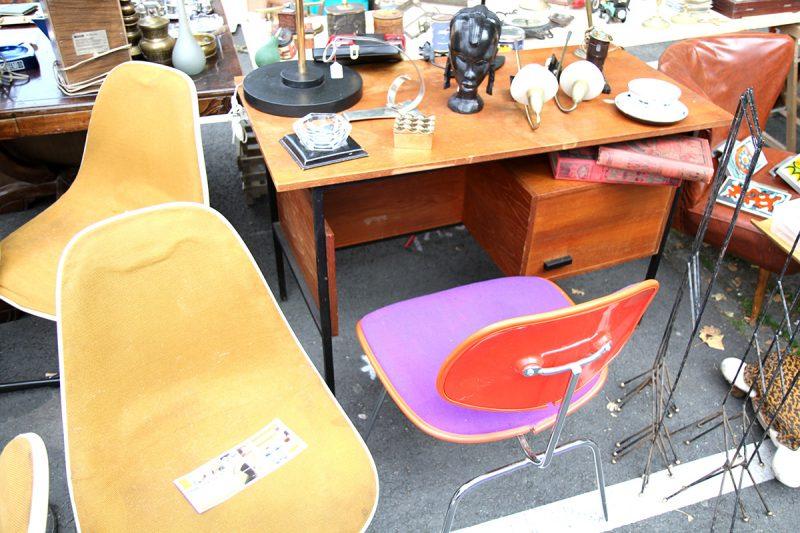 Chaise Eames à la braderie de Lille