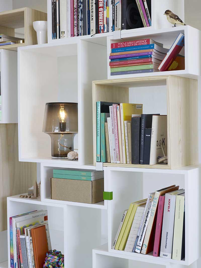 Bibliothèque à caissons Muuto