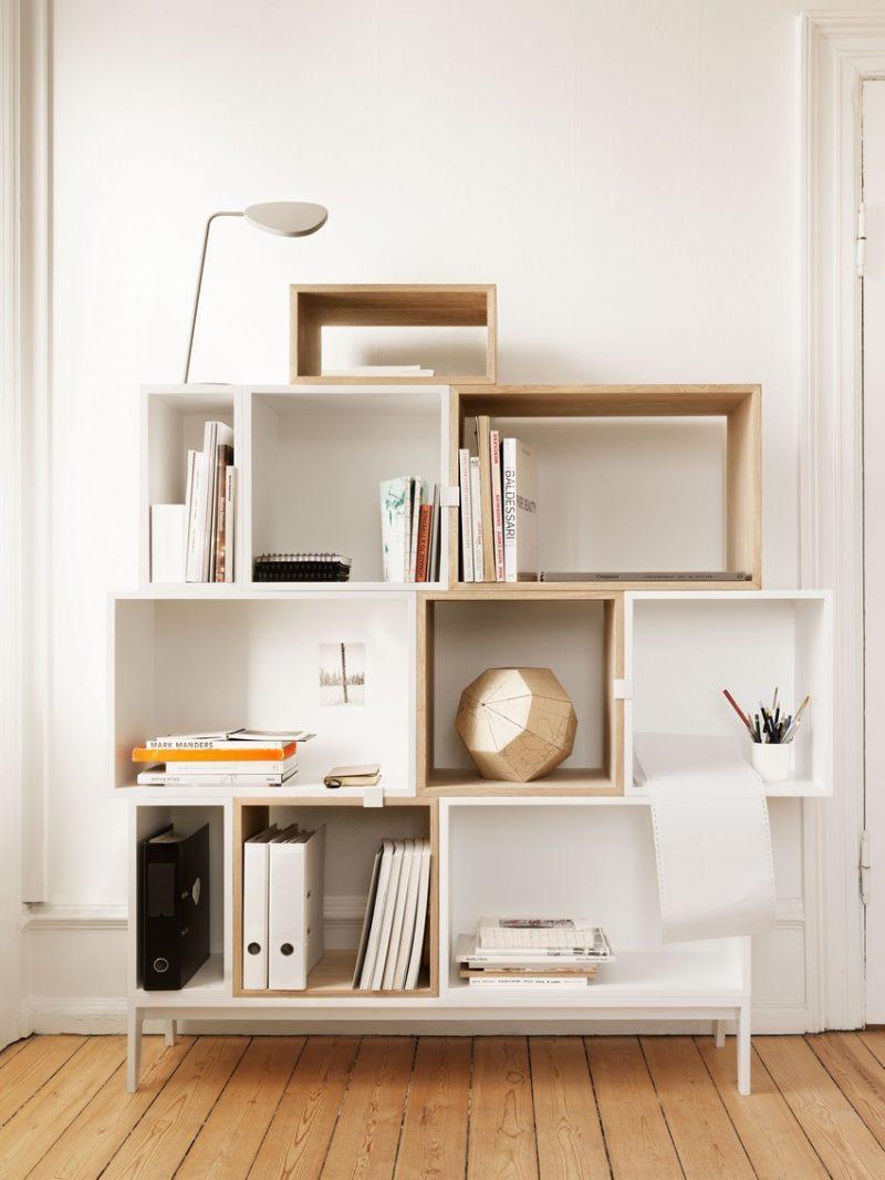 Etag re en caissons en bois - Marque de mobilier design ...