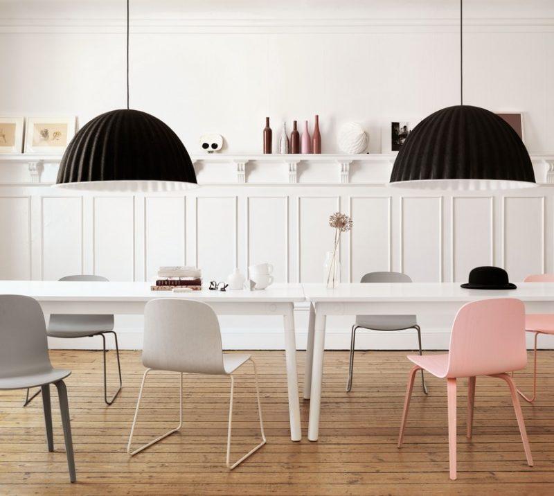 Salle à manger scandinave et moderne